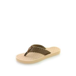 Dámské hnědé pantofle 14601005