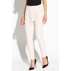 Béžové kalhoty Selen
