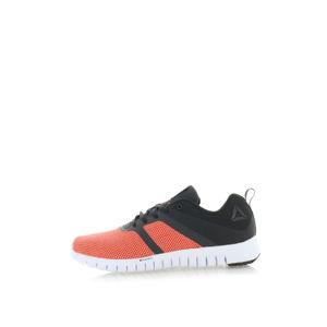Dámské černo-oranžové tenisky Reebok ZQUICK Lite