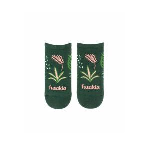 Zelené kotníkové ponožky Izbáče