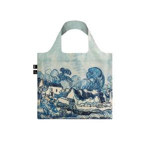Modrá taška Vincent Van Gogh Old Vineyard and Landscape Bag