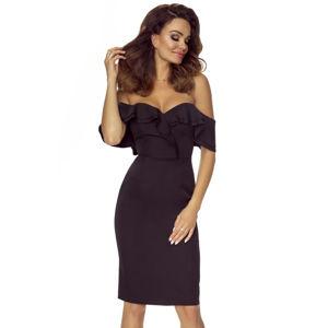 Černé šaty M58696