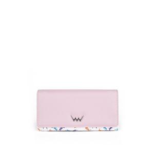 Světle růžová peněženka Harper