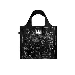 Černá taška Jean Michel Basquiat Crown Bag