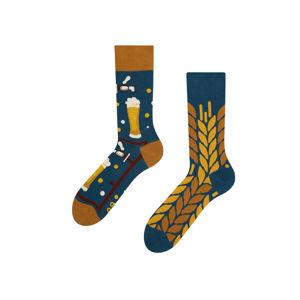 Vícebarevné ponožky Beer Time