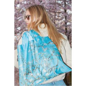 Modrá obojstranná taška Vincent Van Gogh Almond Blossom Duo Bag