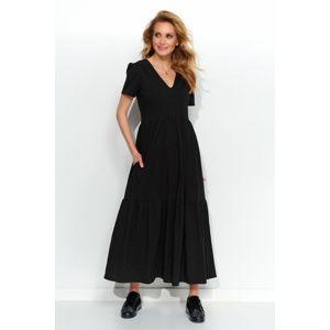 Černé šaty M549
