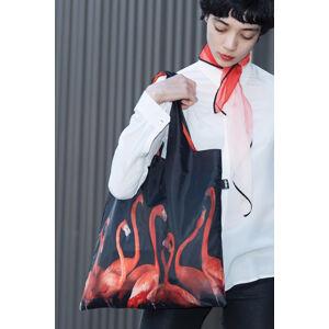 Černo-červená taška National Geographic Flamingos Bag