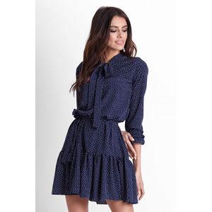 Tmavě modré šaty Inga