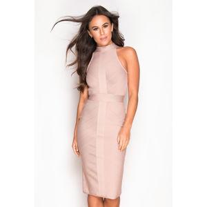 Béžové šaty Tamara