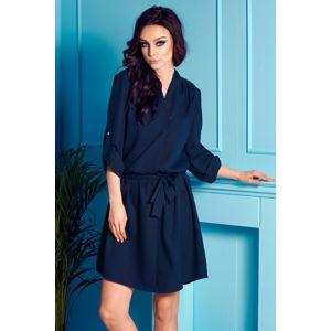 Tmavě modré šaty L300