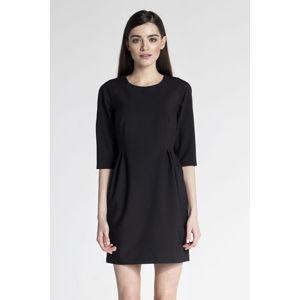 Černé šaty ASU0029