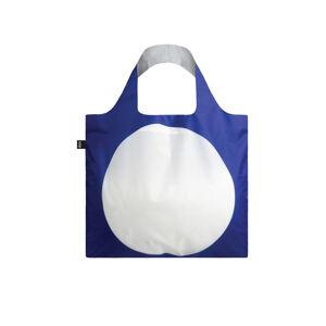 Modro-bílá taška Sagmeister & Walsh Everybody's favorite form Bag