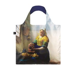 Modro-hnědá taška Loqi Johannes Vermeer The Milkmaid