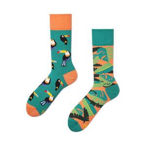 Zelené ponožky Tropical Heat