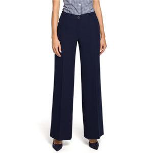 Tmavě modré kalhoty M323