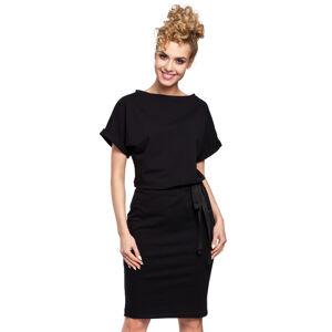 Černé šaty MOE 284